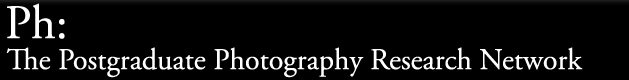 The Postgraduate Photography Research Network